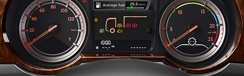 DAF-New-XF-Euro-6-Interior-detail-instrument-panel
