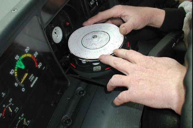 analoginis tachografas